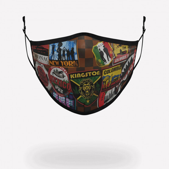 Sprayground Travel Patches mask