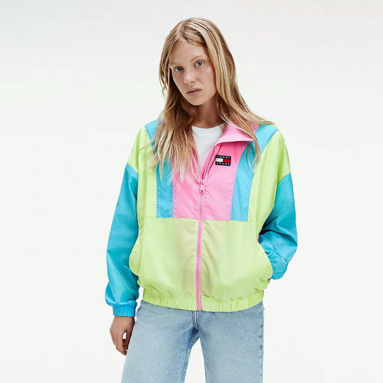 Tommy Jeans Tjw Colorblock Zip Through