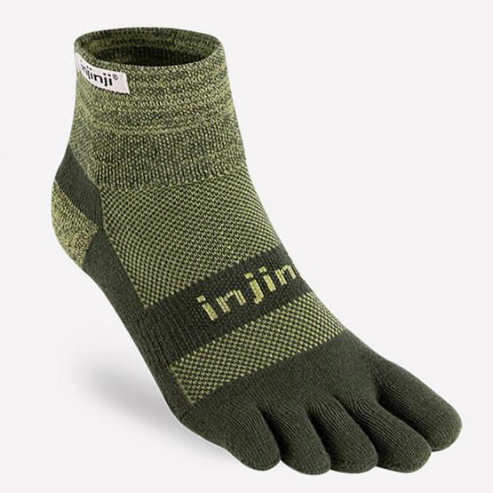 INJINJI Trail Midweight Mini-Crew Unisex Socks
