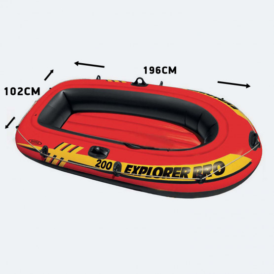 INTEX Explorer Pro 200 Φουσκωτή Βάρκα 196 X 102 X 33 Cm