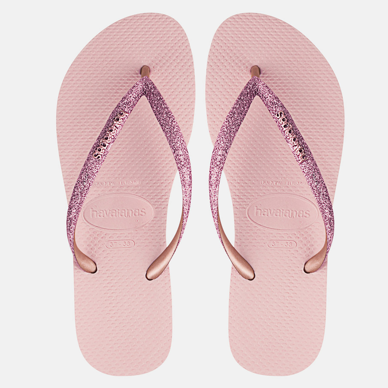 Havaianas Slim Glitter Women's Flip Flops (9000053819_33123)