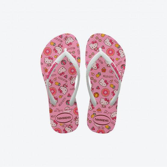 Havaianas Slim Hello Kitty Kid's Flip-Flops