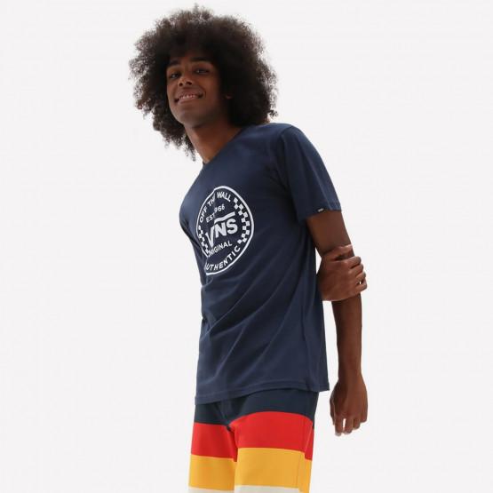 Vans Mn Authentic Checker Dress Blues Men's T-Shirt