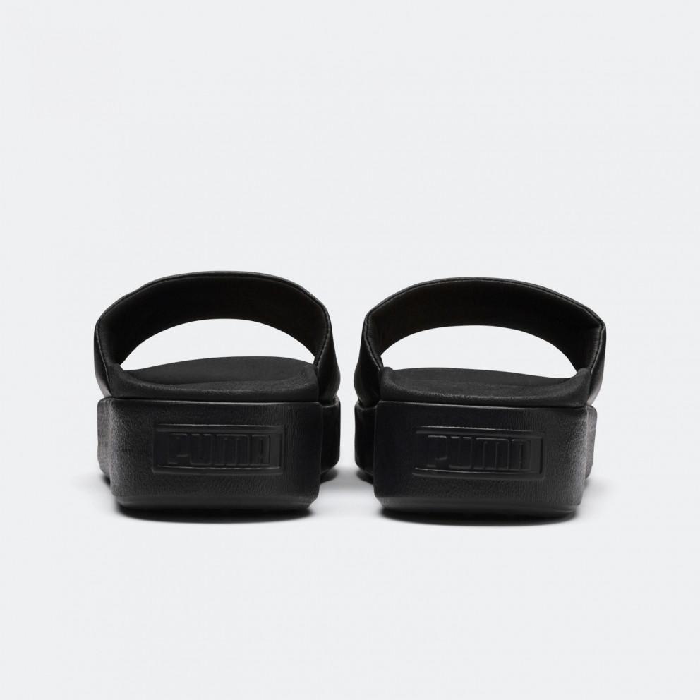Puma Platform Slides - Γυναικείες Παντόφλες