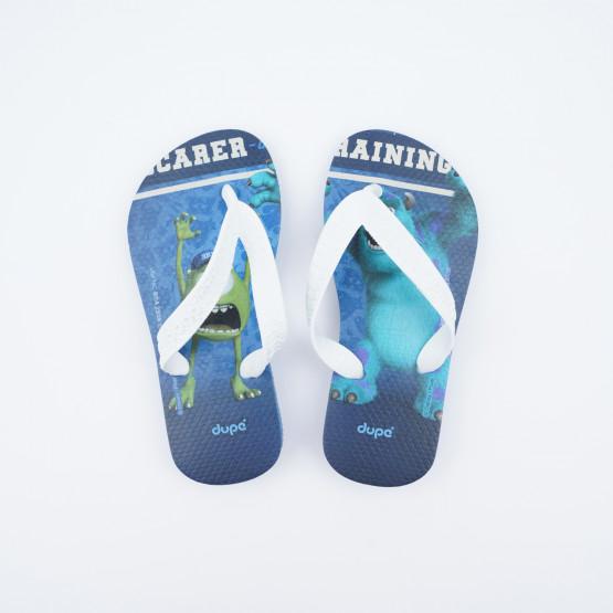 Dupe Disney Monster Kid's Flip Flops