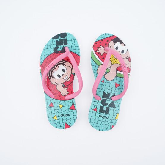 Dupe Turma Da Monica Kids' Flip Flops