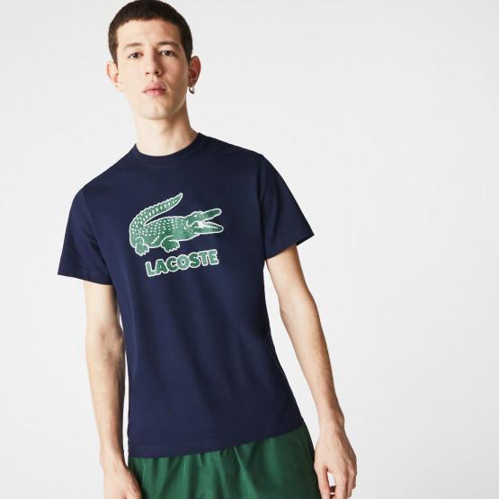 Lacoste Crackled Logo Men's T-Shirt