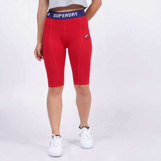 Superdry Sportstyle Essential Γυναικείο Biker Shorts
