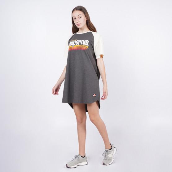 Superdry Cali Surf Raglan Γυναικείο Φορεμα