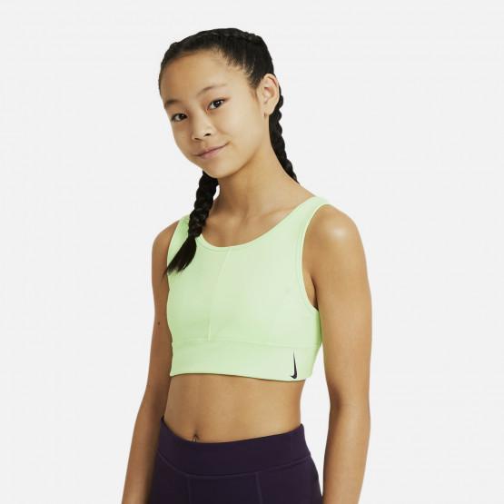 Nike Swoosh Luxe Kids'  Sports Bra