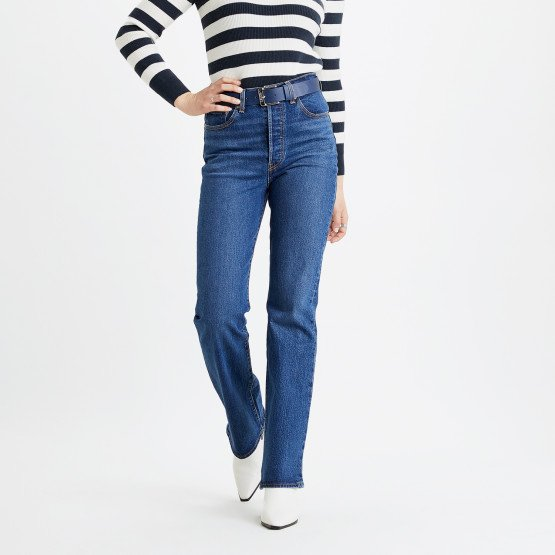 Levis Ribcage Boot Turn Up Women's Jeans