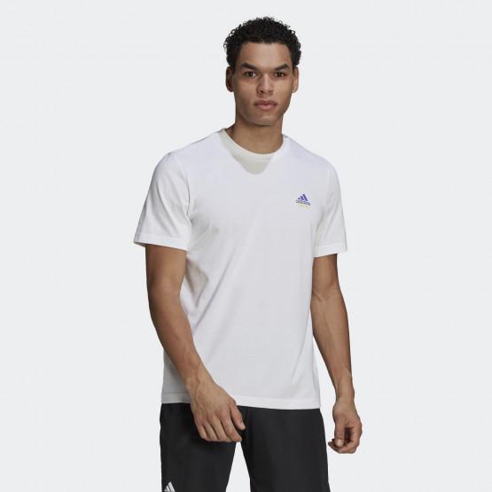 adidas Performance Roland Garros Tennis Graphic Ανδρικό T-shirt