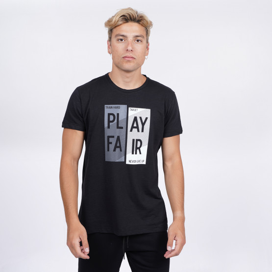 "Target ""Play Fair"" Ανδρικό T-Shirt"