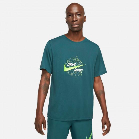 Nike Dri-Fit Miler Ανδρικό T-shirt