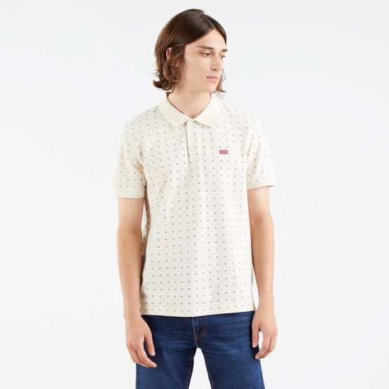 Levi's Housemark Minishapes Oatmeal Men's Polo T-shirt