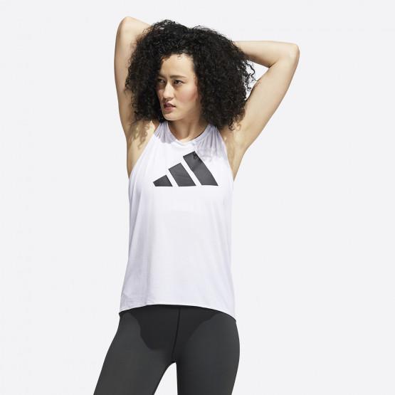 adidas Performance 3-Stripes Logo Αμάνικο T-shirt