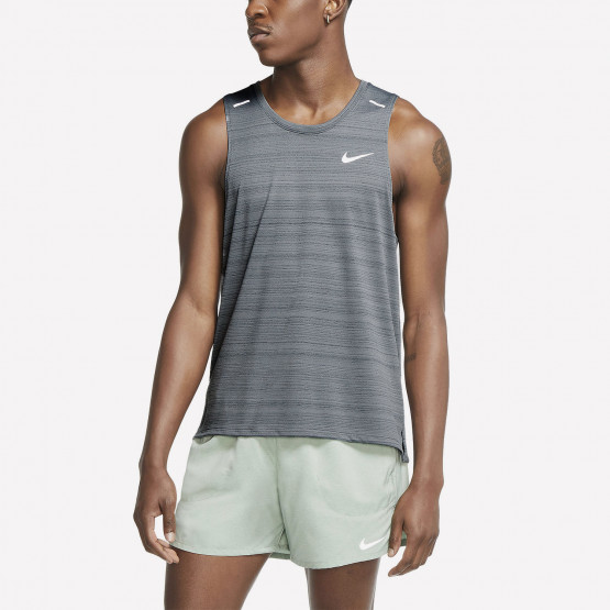 Nike Miler Ανδρική Αμάνικη Μπλούζα για Τρέξιμο
