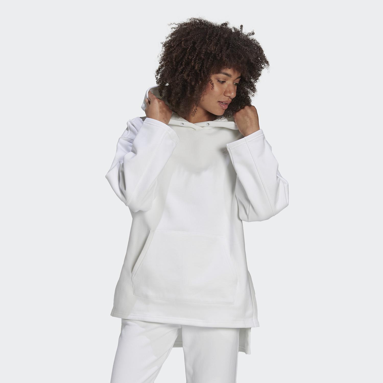 adidas Originals Adicolor Fleece Γυναικεία Φούτερ Με Κουκούλα (9000087899_1539)
