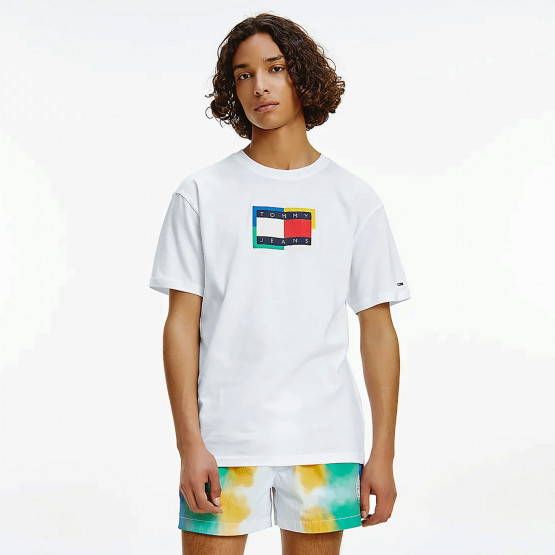 Tommy Jeans Multicolor Flag Ανδρικό T-shirt