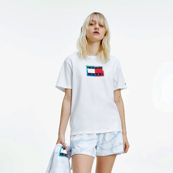 Tommy Jeans Relaxed Dye Flag Γυναικείο T-shirt