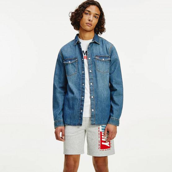 Tommy Jeans Western Men's Denim Shirt