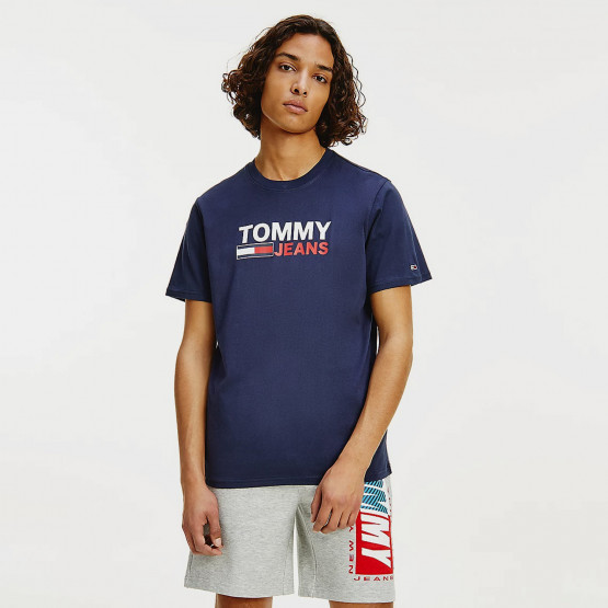 Tommy Jeans Corp Logo Ανδρικό T-shirt