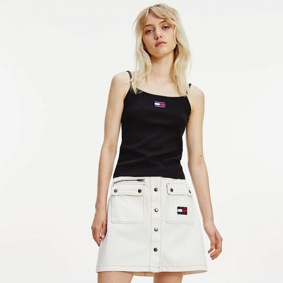 Tommy Jeans Center Badge Strap Women's Top