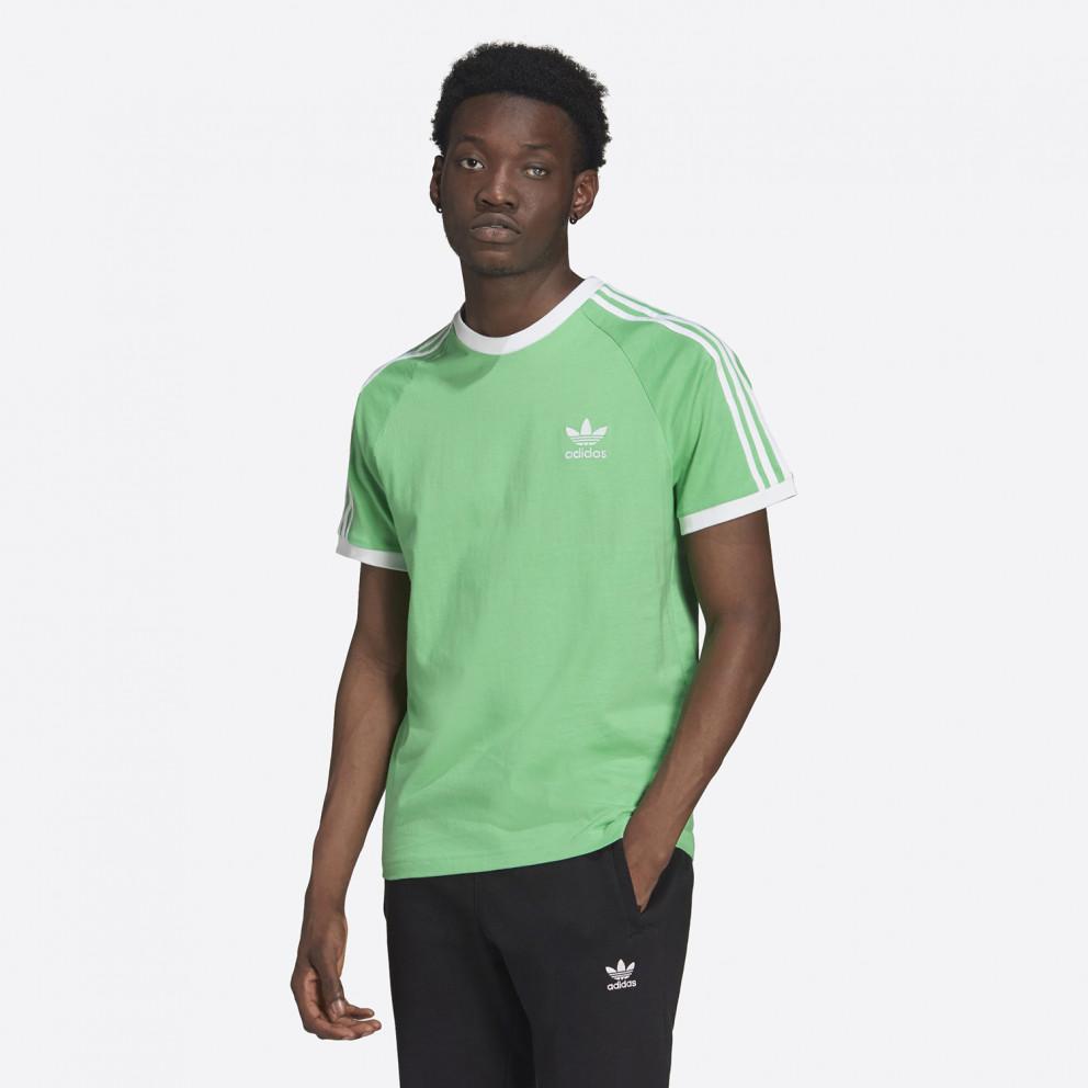 adidas Originals Adicolor Classics 3-Stripes Men's T-Shirt Green ...