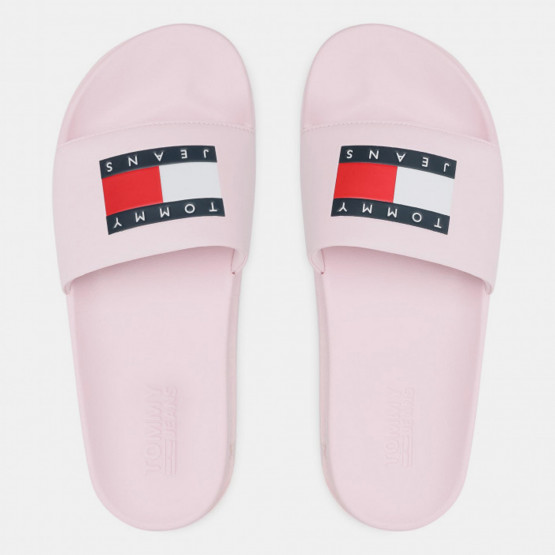 Tommy Jeans Flatform Pool Γυναικεία Slides
