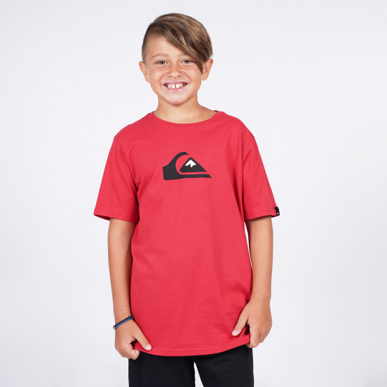 Quiksilver Comp Logo Παιδικό T-Shirt