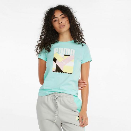 Puma International Graphic Γυναικείο T-shirt