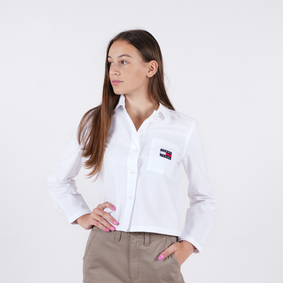 Tommy Jeans Regular Heritage Badge Women's Shirt