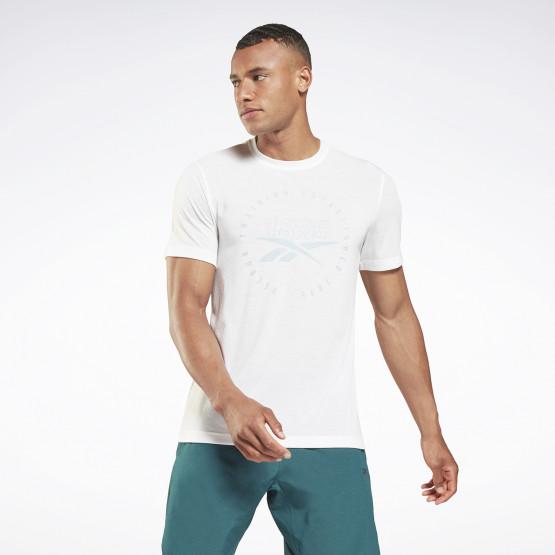 Reebok Sport Graphic Series Speedwick Ανδρικό T-shirt