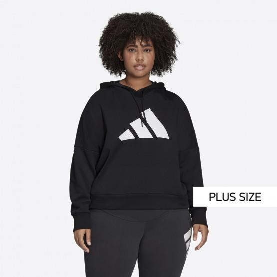 adidas Performance Sportswear Future Icons Γυναικείο Φούτερ Plus Size