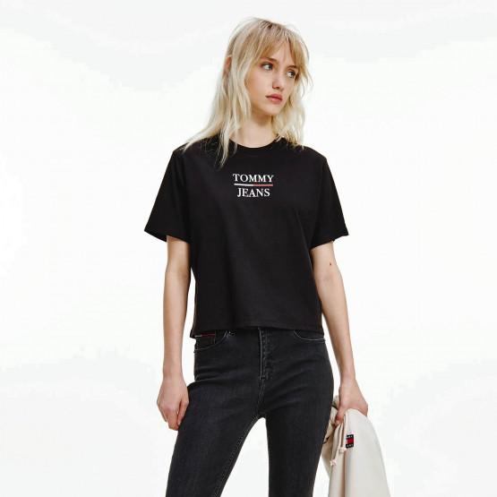 Tommy Jeans Boxy Γυναικείο Crop Top