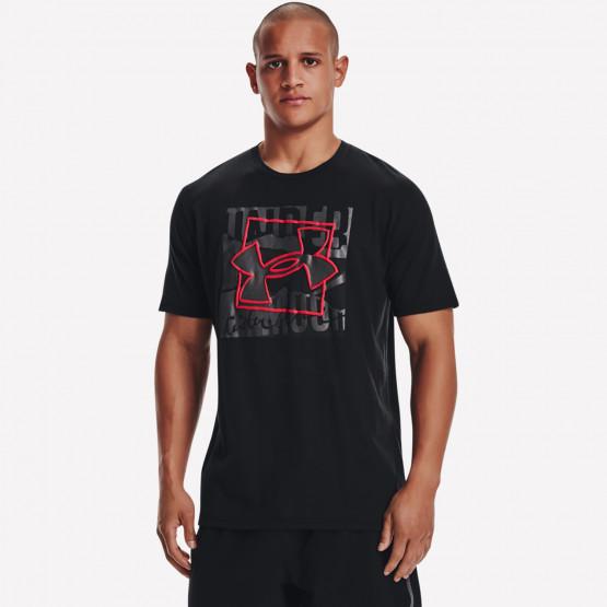 Under Armour Boxed Symbol Outline Men's T-Shirt