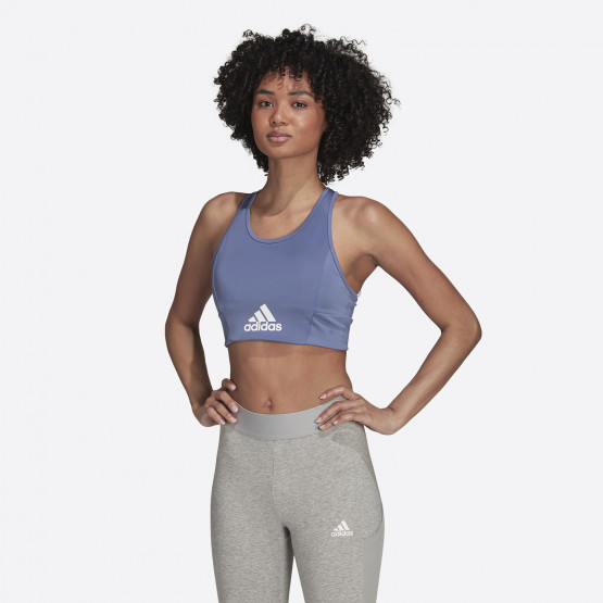 adidas Performance Designed 2 Move Logo Padded (Low Support) Women's Bra