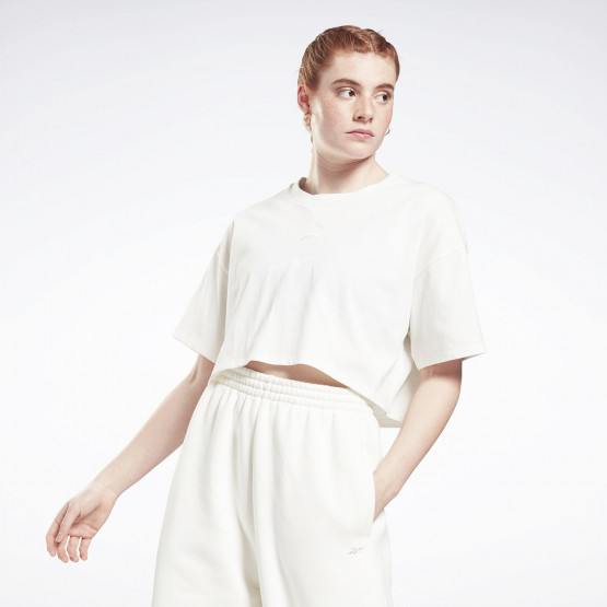 Reebok Sport Studio Cropped Γυναικεία Μπλούζα