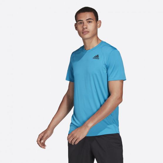 adidas Performance Club Tennis 3-Stripes Men's Tennis T-shirt