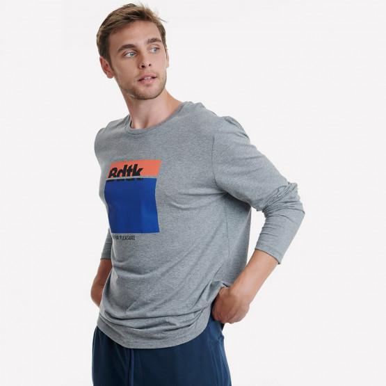 BodyTalk  Ανδρική Μπλούζα Με Μακρύ Μανίκι