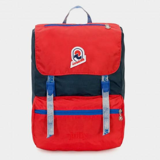 Invicta Indigo Jolly Vintage Backpack 20 L