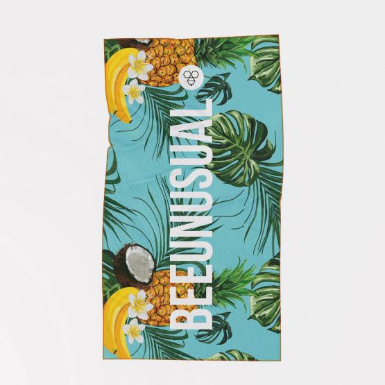 "Bee Unusual Chill Beach Edition ""Tropical Haze"" Πετσέτα Θαλάσσης 100 x 150"
