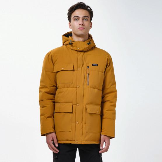 Basehit Men's P.P. Down Men's Hooded Jacket