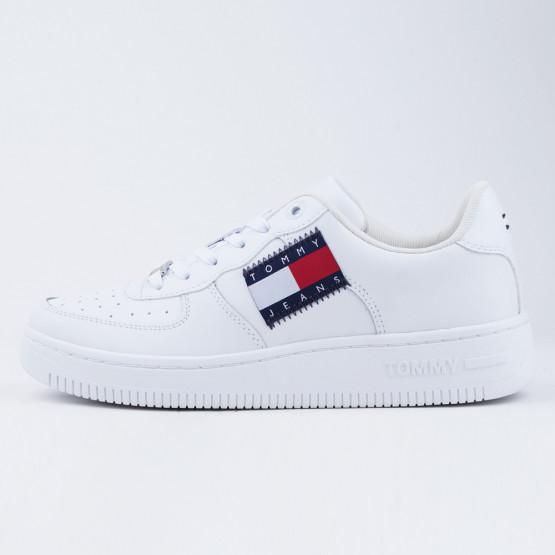 Tommy Jeans Low Cut Flag Γυναικεία Παπούτσια