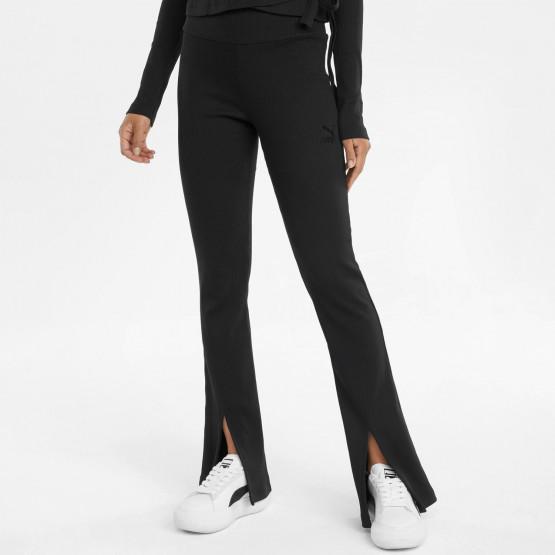 Puma Classics Ribbed Γυναικείο Παντελόνι Φόρμας