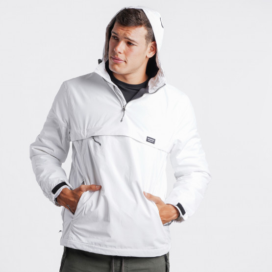 Basehit Men's Pullover Jacket with Hood