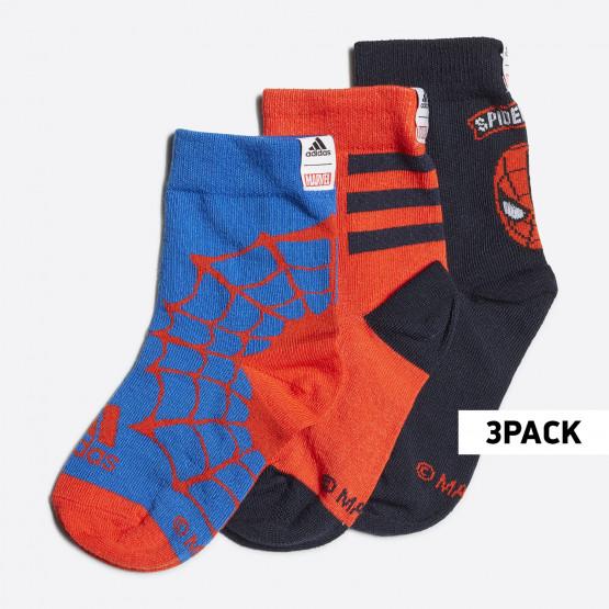 adidas Performance Marvel Spiderman Βρεφικές Κάλτσες