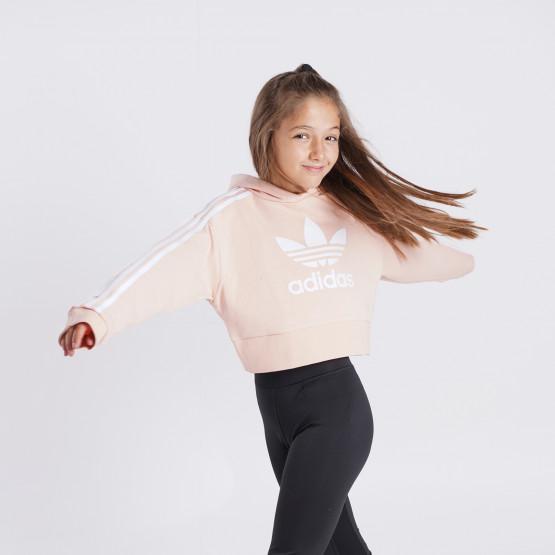 adidas Originals Adicolor Cropped Παιδικό Φούτερ