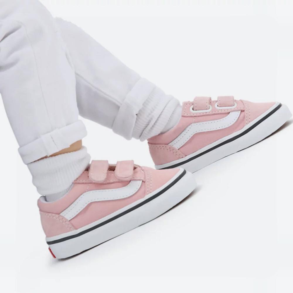 Vans Td Old Skool V Powder Pink/T (9000085177_54647)