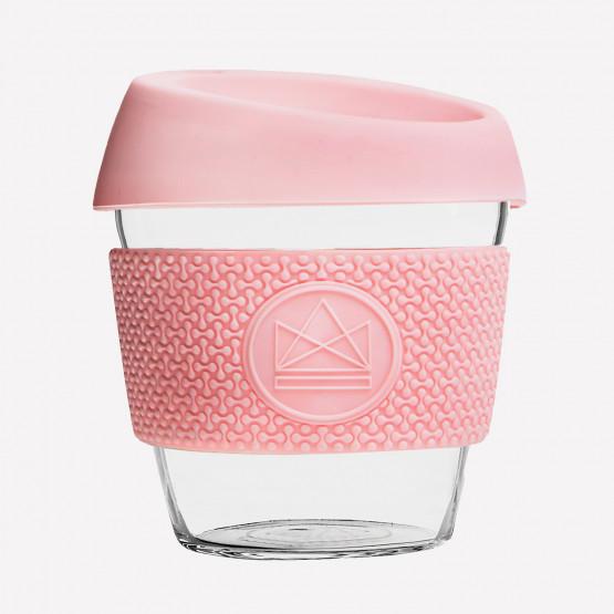 Neon Kactus Pink Flamingo  Glass Coffee Cups 230ml